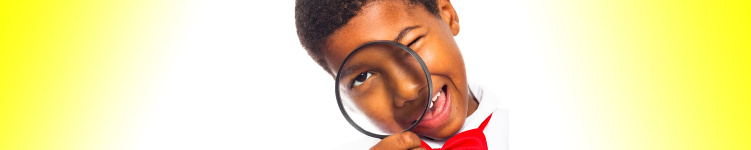 Magnified Glass Boy The Learning Space Vaughan